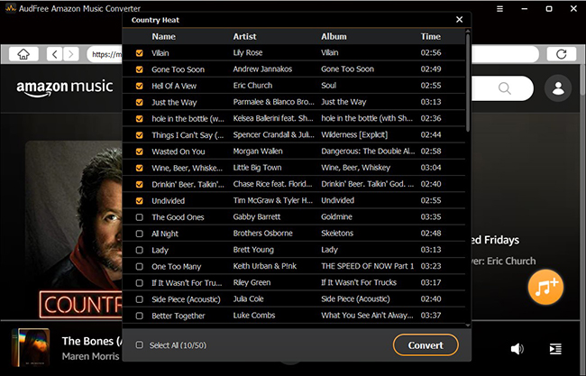 add amazon music to download for ipod