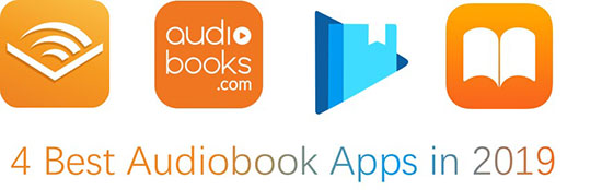 4 best audiobooks apps
