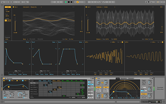 ableton music creation software