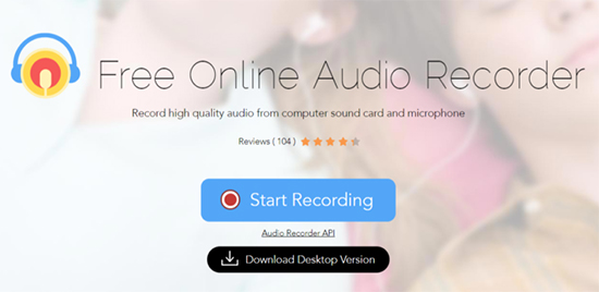 free streaming audio recorder
