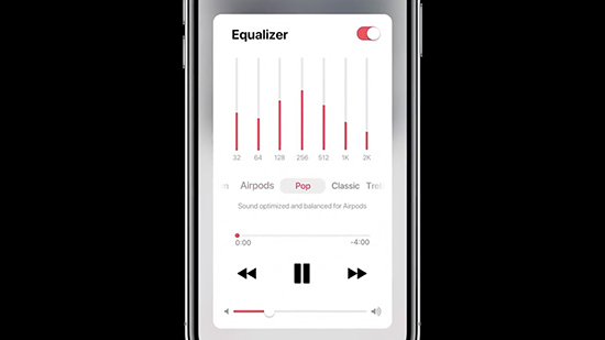 apple music equalizer