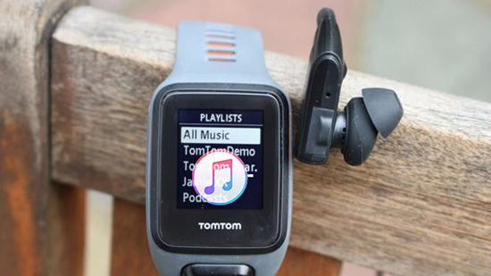 play apple music on tomtom spark