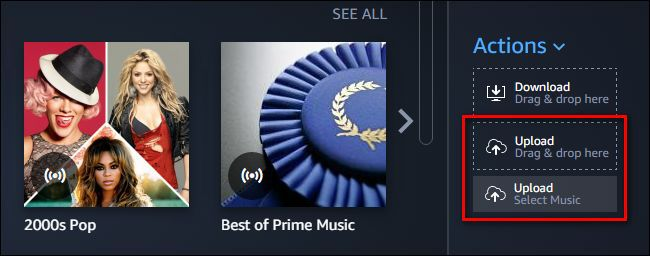 upload itunes books to amazon music