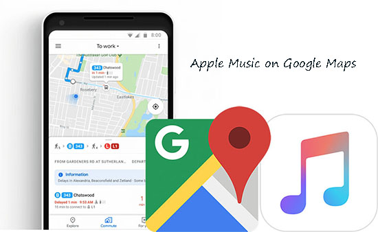 apple music to google maps
