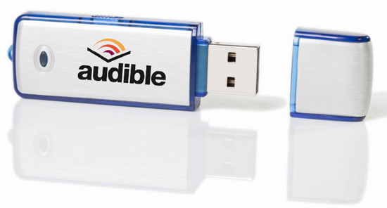 transfer audible books to usb