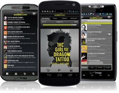 play audible books on android