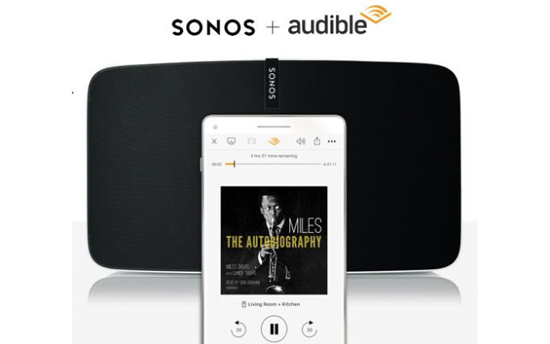audible on sonos