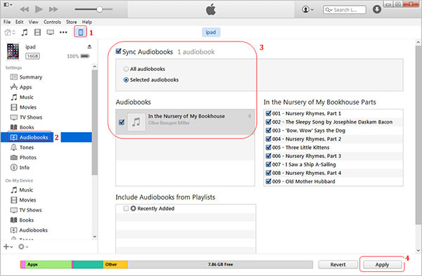 How to Put Audible Books to iPod Touch/Nano/Shuffle