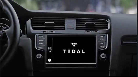 control tidal on apple carplay