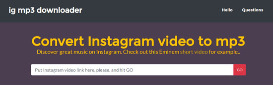 download audio from instagram online