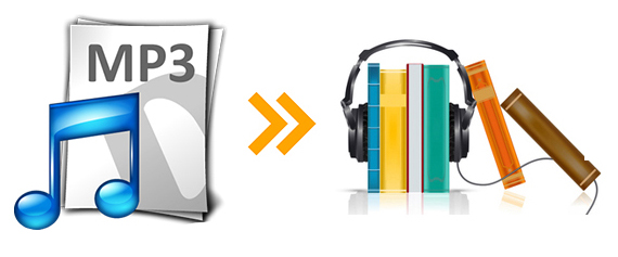 convert mp3 to audiobook