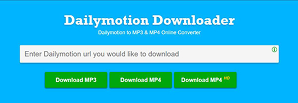 Two Ways to Download and Record Dailymotion Videos to MP3