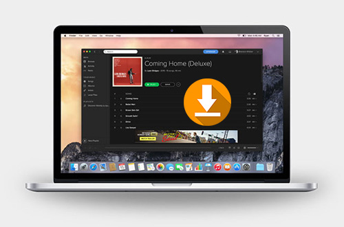 download music from spotify mac