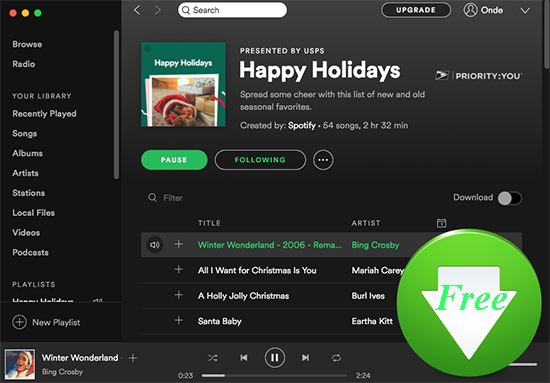 download spotify music for free