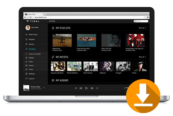 download tidal music onto computer
