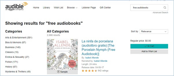 download audible books free
