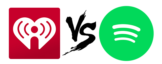 iheartradio vs spotify