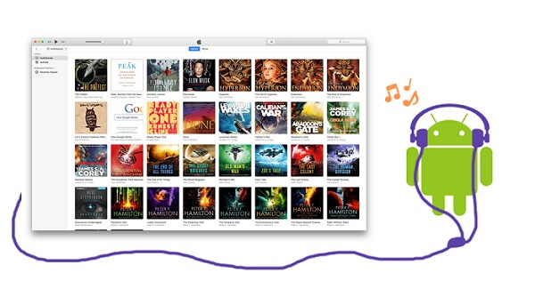play itunes audiobooks on android