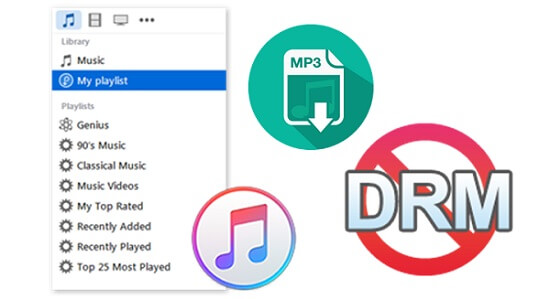2 Ways to Convert DRM & Non-DRM iTunes M4P Songs to MP3