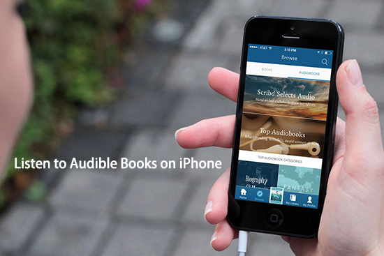 listen to audible on iphone