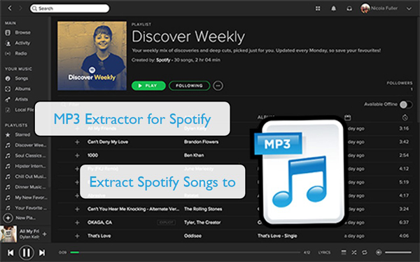 mp3 extractor for spotify