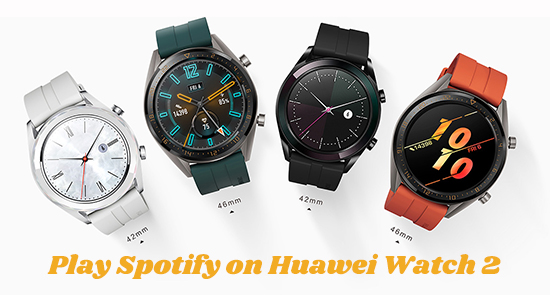 play spotify on huawei watch 2