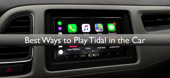 play tidal in the car