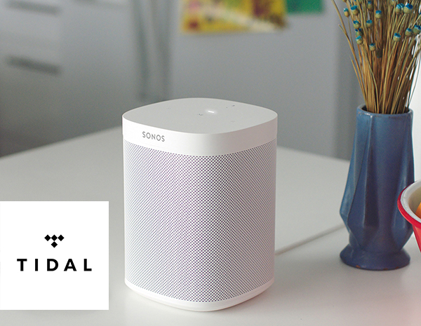 play tidal on sonos speaker
