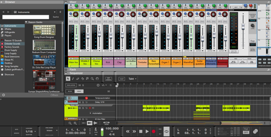 propellerhead music making software