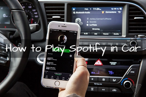 spotify in the car