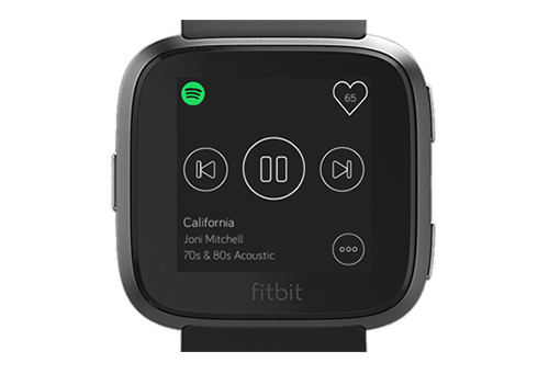 spotify on fitbit ionic and versa