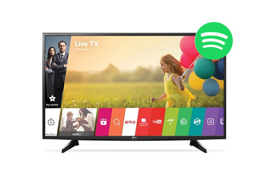 play spotify on lg smart tv