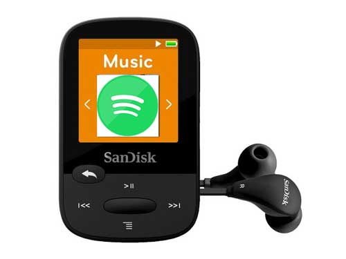 How to Play Spotify on SanDisk MP3 Player