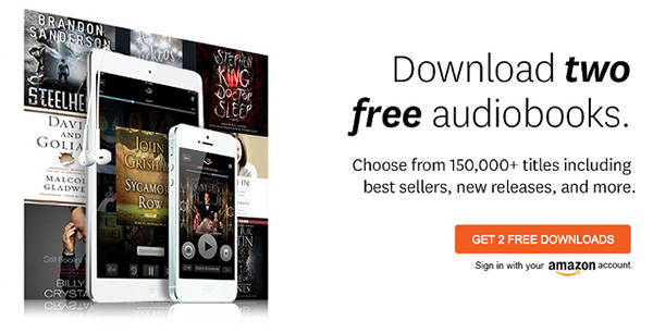 start 30-day free audible trial