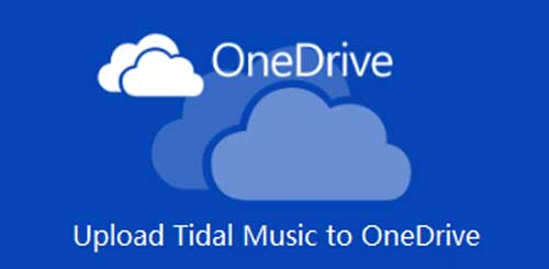 upload tidal music to onedrive