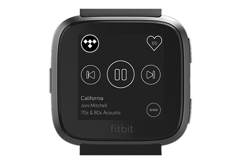 tidal on fitbit ionic