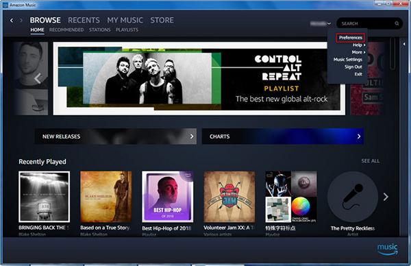 Spotify to Amazon Music - Transfer Spotify Playlist to