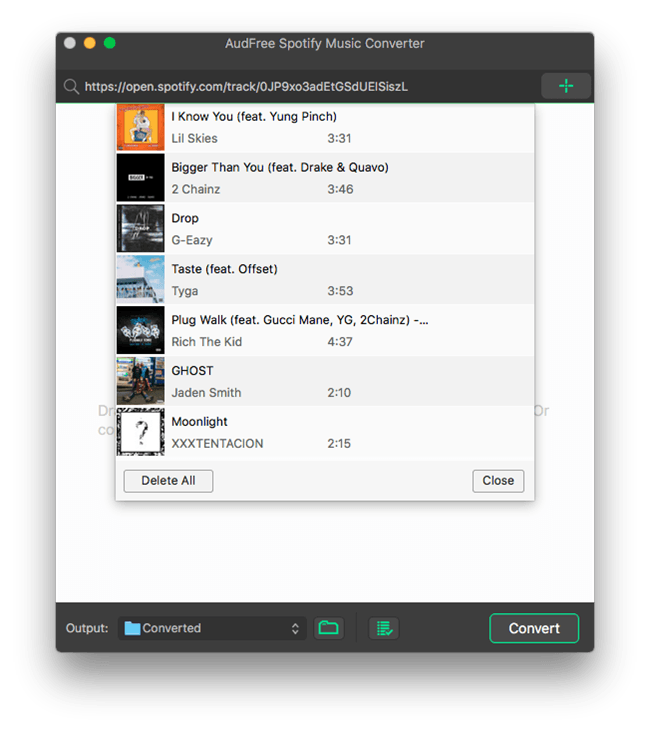 Music Converter for Spotify for Mac